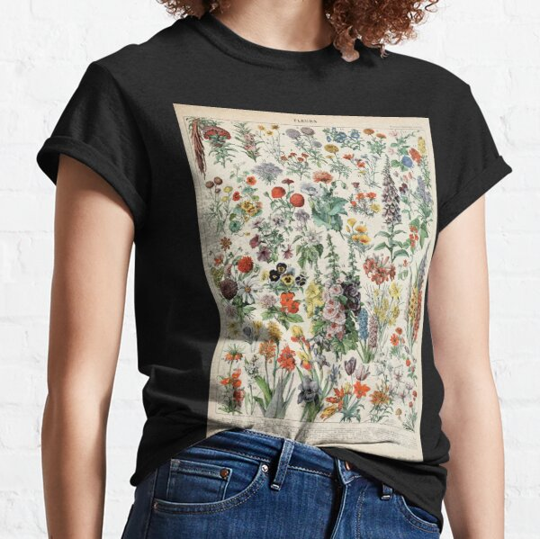 Adolphe Millot fleurs A Classic T-Shirt