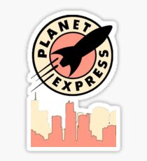 Planet Express Sticker