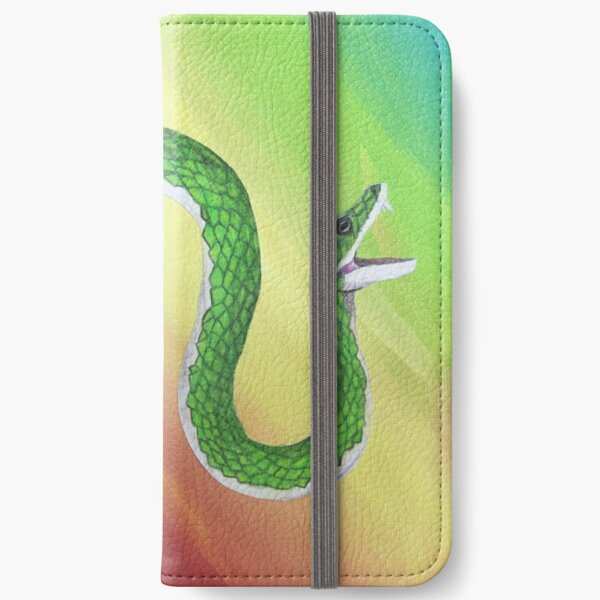 Snake Mouth iPhone Wallet