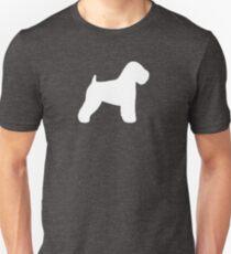 Soft Coated Wheaten Terrier Silhouette(s) Unisex T-Shirt