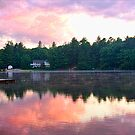Sunset on Danforth Bay by MDossat