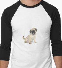 cute dog Men's Baseball ¾ T-Shirt