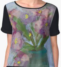 Flowers power Women's Chiffon Top