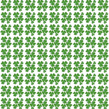 Shamrocks - 3-leaf Clovers pattern by CircusValley