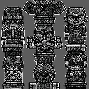 Terror Gods by rustenico