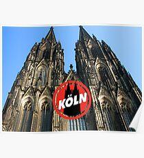Koeln / Cologne Poster