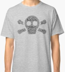 Ciber Security, internet Classic T-Shirt