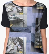 $UICIDEBOY$ THE DARK GLACIER SAGA Women's Chiffon Top