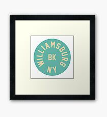 `Williamsburg - Brooklyn - New York City Framed Print