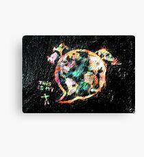 this is my world Canvas Print