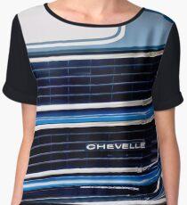 C Chevelle SS Grille Emblem -0030c Women's Chiffon Top
