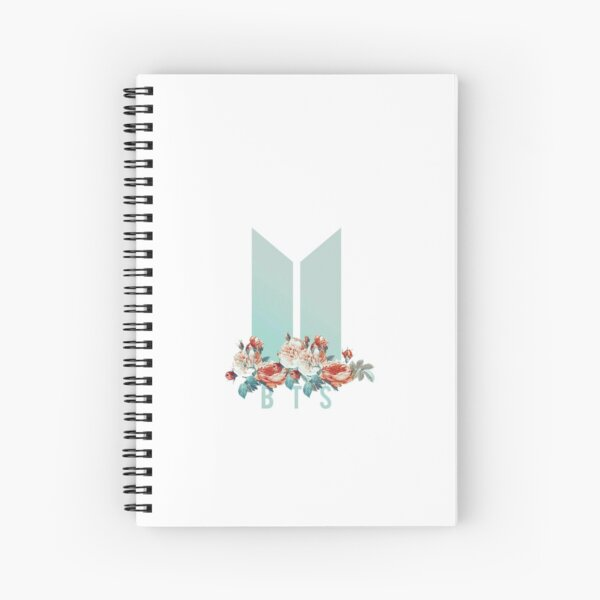 bts Spiral Notebook