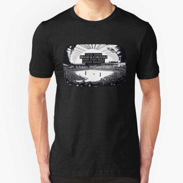 Bread & Circuses (Pong) Slim Fit T-Shirt
