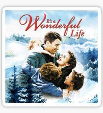 It's a Wonderful Life scene Sticker