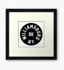 Williamsburg - Brooklyn - New York City Framed Print