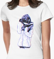 COLD - Sad Japanese Aesthetic Women's Fitted T-Shirt