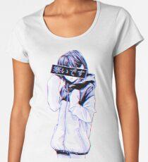 COLD - Sad Japanese Aesthetic Women's Premium T-Shirt