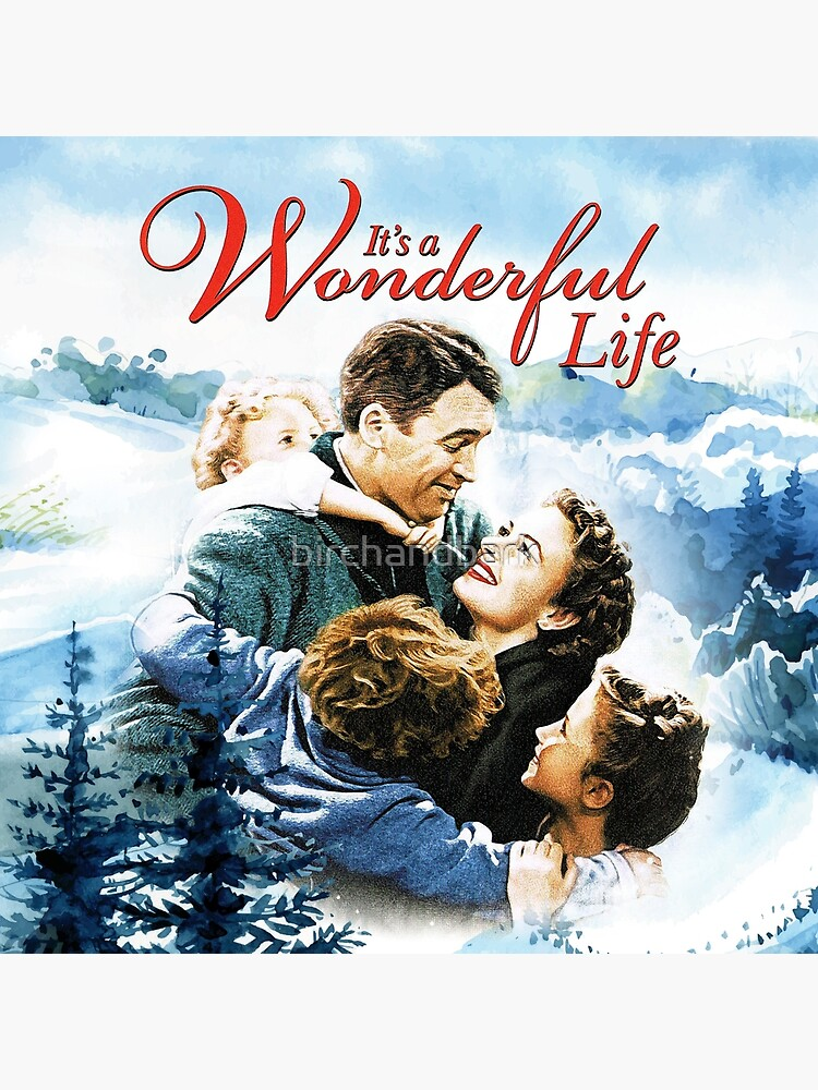 It's a Wonderful Life scene by birchandbark