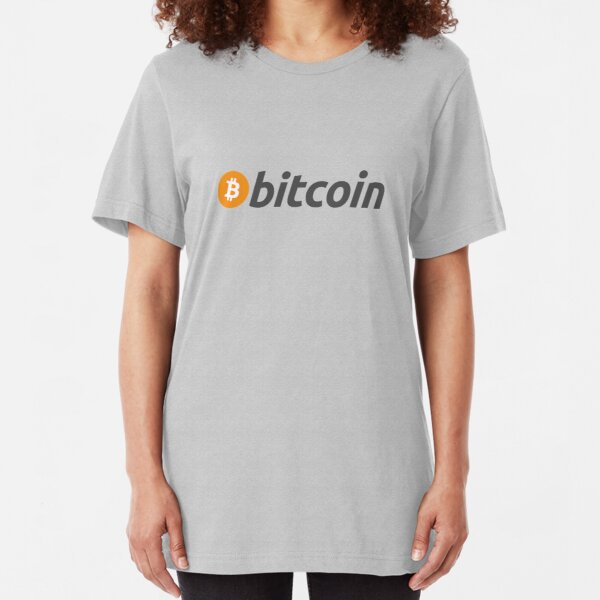 Bitcoin Slim Fit T-Shirt