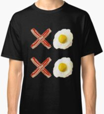 Hugs and Kisses XOXO Bacon and Eggs Classic T-Shirt