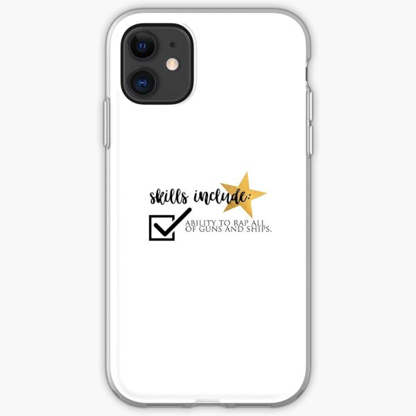 guns and ships iPhone Soft Case