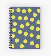 Lemon Echo Spiral Notebook