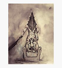 Pyramid head silent hill Photographic Print