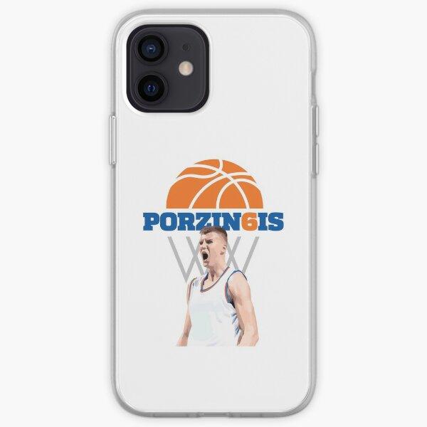 Kristaps Porzingis #6 iPhone Soft Case