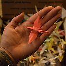 1000 paper cranes by Brandi  Hart