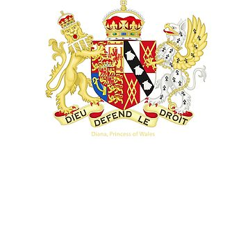 Diana, Princess of Wales Coat of Arms by cinn