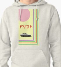 "Initial D ""Drift"" Pullover Hoodie"