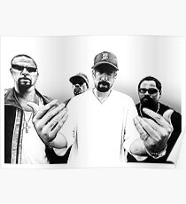 CYPRESS HILL  -  D90 Rap Collection. Poster