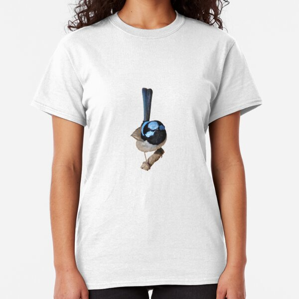 Superb Fairy-wren male Classic T-Shirt
