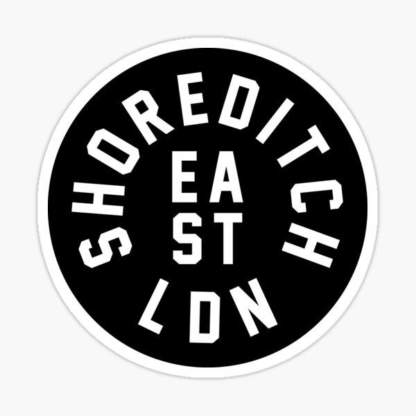 Shoreditch - London - East End Sticker