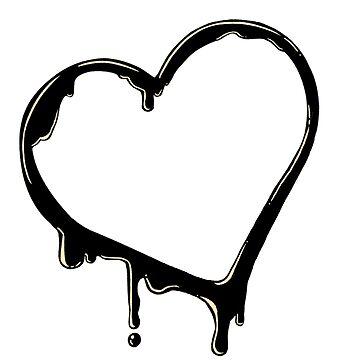 Inky Hearts by TerraTerraCotta