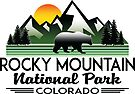 Rocky Mountain National Park Colorado Nature Outdoors Hiking by MyHandmadeSigns