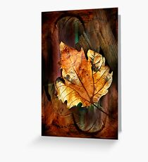 Leaf matters Greeting Card