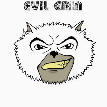 Evil grin by Gromter