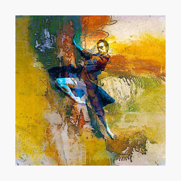 Abstract dancer Photographic Print