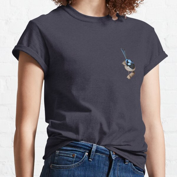 Superb Fairy-wren male 2 Classic T-Shirt