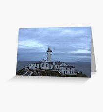 Fanad Head Lighthouse Co. Donegal Ireland Greeting Card
