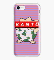 KANTŌ classic background iPhone Case/Skin