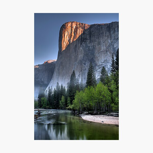 Sunrise on El Capitan Photographic Print