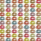 Stylish Colorful Lips #13 by Nhan Ngo