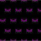 Guns and Roses Purple (Pattern 2) by Adam Santana