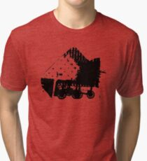 Population is One of Our Security Precautions – Graphic Tri-blend T-Shirt