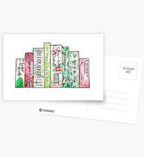 A Row of Christmas Classics Postcards