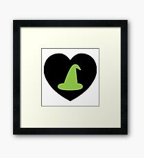 Wicked Witch Love | I Heart... Framed Print
