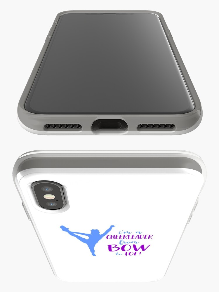 Vista alternativa de Funda y vinilo para iPhone animadora de arco a los pies