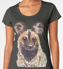 African Wild Dog Women's Premium T-Shirt